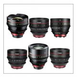 Canon EF Cinema Prime 6 Lens Kit (14, 24, 35, 50, 85, 135mm)