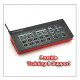 Devicewell HDS7105 HD 5-Ch (4 HDMI + 1 DP) Live Stream Video Switcher (Provide Training & Support)