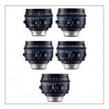 Zeiss CP.3 5 Lens Set (EF Mount)