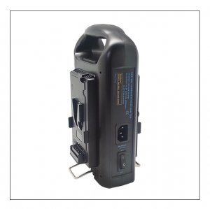 Meso MS-BP2E Dual Channel, Simultaneous Charger And AC Adapter For V-mount Li-ion Batteries